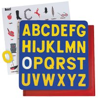 Uppercase A To Z Panel Puzzle F02-LR2305