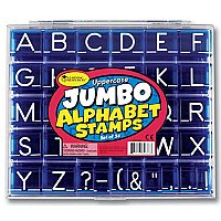 Uppercase Alphabet Stamps (C19-0666)