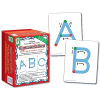Uppercase Letter Textured Touch And Trace Cards (A15-KE846011)