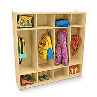 Four Section Coat Locker - WB0128