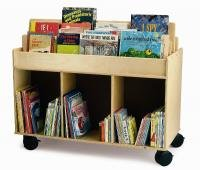 Mobile Book Storage Island : WB0383