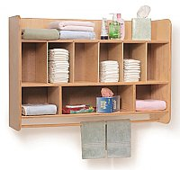 Hang on the Wall Diaper Storage WB4646