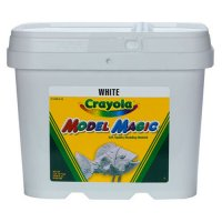 White 2 lb Crayola Model Magic CR-57440