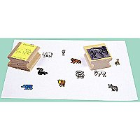 Wild Animals Stamps 12 Pack CE-952