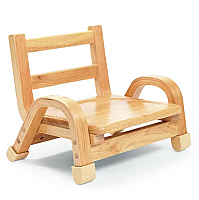 Natural Wood Chair 5 Inch SEAT HEIGHT AB78C05