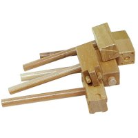 Wooden Clay Hammers Set of 5 CK-3747