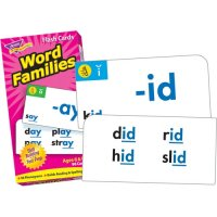 Word Families Flash Cards (B56-53014)