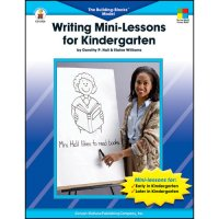 Writing Mini Lessons For Kindergarten (A15-2426)