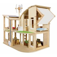 Eco Dollhouse with furniture PW-X7156