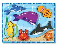 Sea Creatures Chunky Puzzle MD-3728