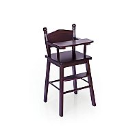 Doll High Chair – Espresso G98105