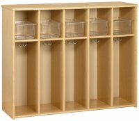 Eco™ 5 Compartment Locker w/ Trays [3061A73-TOT]