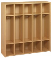Eco™5 Compartment Locker - Preschool Size [3066A73-TOT]