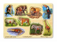 Zoo Peg Puzzle MD-78