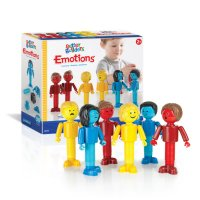 Guidecraft™ Better Builders® Emotions: 30 Piece Set G8306