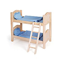 Doll Bunk Beds Natural G98116