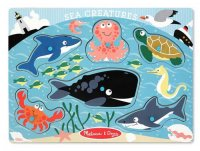 Sea Creatures Peg Puzzle  Item #:MD- 3384