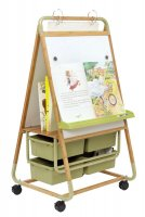 Double Sided Bamboo Teaching Easel BE1