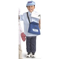 Community Helper Costumes: Mail Carrier BNW-CPW107
