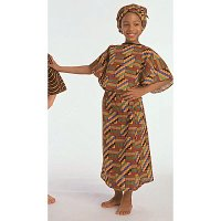 Ethnic Costumes: African Girl Ages 4-8 CF100-324G