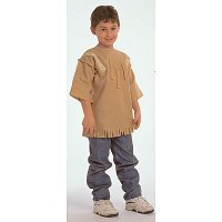 Ethnic Costumes: Native American Boy Ages 4-8. CF100-325B