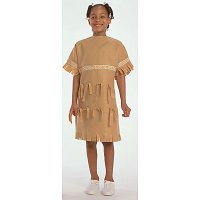 Ethnic Costumes: Native American Girl Ages 4-8. CF100-325G
