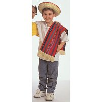 Ethnic Costumes: Mexican Boy Ages 4-8. CF100-327B