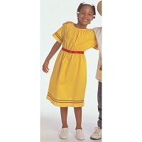 Ethnic Costumes: Mexican Girl Ages 4-8. CF100-327G