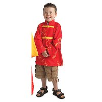 Multicultural Dress-Ups Chinese Happy Jacket BNW- COB704