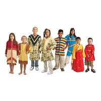 Multicultural Dress-Ups Set of 8 BNW-CM80