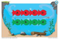 Flat Fish Letter Matching Activity Cards