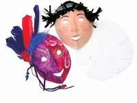 Masks (Folding Fun Masks) B39-52076