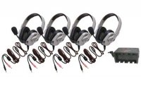 Four-Pack Titanium™ Series Headsets HPK-1534