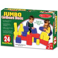Basic Cardboard Blocks 24 pcs Melissa & Doug D54-22783