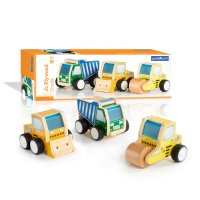Guidecraft™ Jr Plywood Construction Trucks G7522