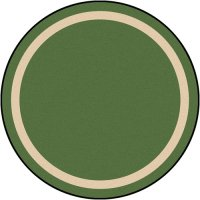 "Portrait Theme Area Rug 7'7""ROUND JC 1479E"
