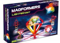 Magformers 55 pc Lighted Set PW-63092