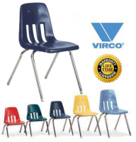 "Classroom Chair Virco 9000 Series 12""SEAT HEIGHT COLOR OPTIONS AVAILABLE 9012"