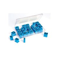 Uppercase Letters Rubber Stamp Set EI-1470