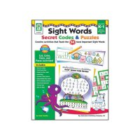 Gr K-1 Sight Words Secret Codes & Puzzles CD KE804074