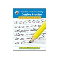 Gr 2-5 Traditional Handwriting Cursive Practice  CD-0888