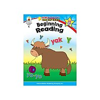 Gr K Beginning Reading Home Workbook CD-104342