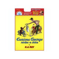 Carry Along Book & CD, Curious George Rides a Bike  9780618689460