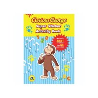 Curious George Super Sticker Activity Book  9780547238968