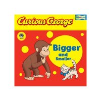 Curious George Bigger and Smaller  9780618737604