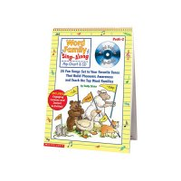 Word Family Sing-along Flip Chart  S0439456703