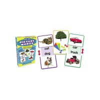 Slide & Learn Flash Cards Picture Words TC6555