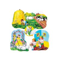 Nursery Rhymes #3 Flannel Set LFV-22003