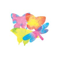 Colour Diffusing Butterflies 48 Pack  R-2445