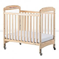 Next Generation Serenity Compact Crib with Fixed-side Rail and Clearview End Panel 2532043